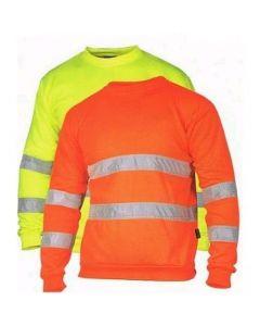 Signaalsweater HiVis 20471 reflectie voor/achter