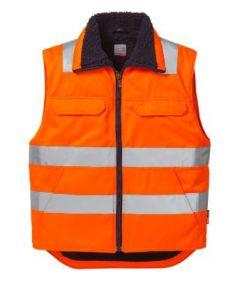 Bodywarmer Hi-Vis  Fluor oranje