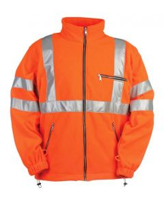 Signaal Fleecejack 131 Z Oranje
