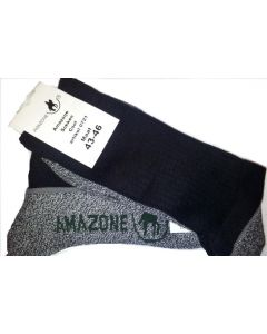 Pr.Sokken Amazone Cool MS2  Zw/Grijs