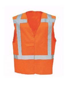 Veiligheidsvest 9042 Oranje Meshpol.