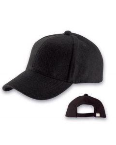Cap met buckle Zwart 900