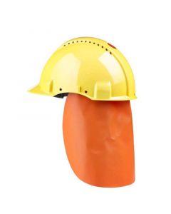 Neklap GR1C oranje voor helm