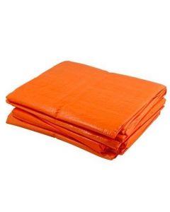 Dekkleed 4 x 6 mtr. Oranje