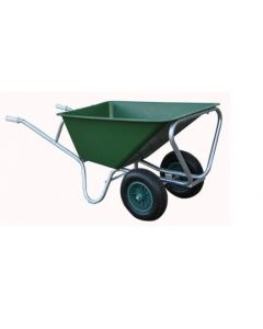 Stal kruiwagen HUMMER PE 160L 2 wielen lichte uitvoering