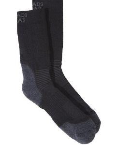 Wollen sokken Match Zwart