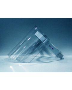 Gezichtsscherm doorzichting Acrylic dikte 1mm afm295*200mm