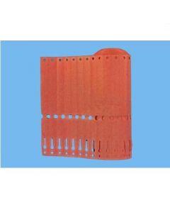 Sleufetiketten 14x1,3 kleur Roze