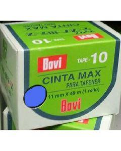 ds.PVC Bovi Tape a 10 rol.0,10  Blauw