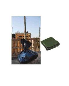 Phormi zakken zwart 60x60