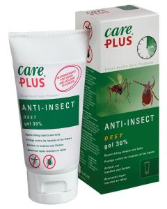 Care Plus DEET Anti-insect gel 30% (80 ml)