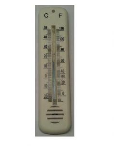 Buitenthermometer plastic