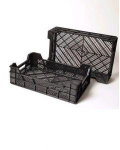 Stekkist zwart 60x40x11