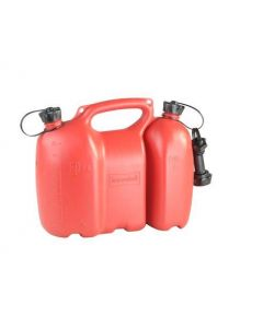 Jerrycan dubbel rood