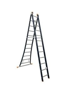 Alu.ladder 2 dlg. x  8sp.