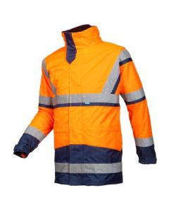 Signaal Regenparka Powell met uitneembare softshell jas