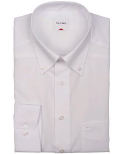 Overhemd LM Olymp 0501 64 00 button down Wit