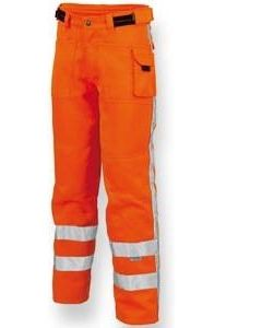 Sign.Worker broek RWS TWR-3001 Fl.oranje