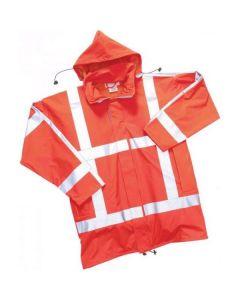 Regenjas Flex. RWS refl. Oranje Ontario
