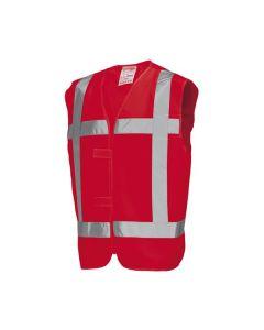 Veiligheidsvest TR. V-RWS Rood