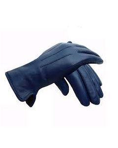 Pr.Officiers Handschoenen leer Zwart