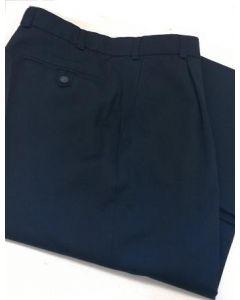 Zomerpantalon garbardine Donkerblauw