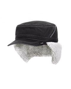 Wintercap Snickers 9099 met oorkleppen Zwart