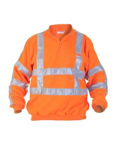 Fleecetrui Texowear Texel 040450OR Oranje