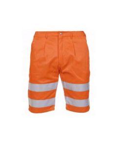 Korte broek Texowear Aden 044459 Fluor.Oranje