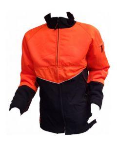 Zaagtuniek 7080 zwart/oranje