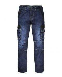 Heren Jeans WILLEM met dijbeenzak DarkDenim Blue