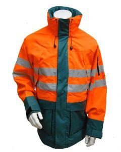 Signaalparka AMAZONE Groen/Oranje