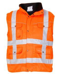 Bodywarmer Hi-Vis RWS  Fluor Oranje