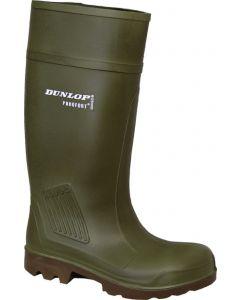 Pr.Veil.laarzen Dunlop Purofort S5 Groen