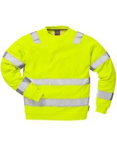 Hi-ViS Sweatshirt F&K 7446 BPV