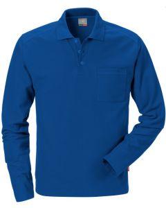 Polo shirt F&K 7393 PM lange mouw