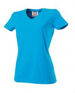 Dames T-shirt TVT190 V-hals slimfit