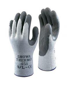 Pr. Handschoenen Showa thermogrip grijze palm